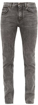 Acne Studios North Mid-rise Slim-leg Jeans - Mens - Dark Grey