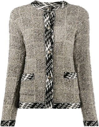 Etro Contrast-Trimmed Cardigan
