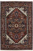 Ecarpetgallery eCarpet Gallery 207260 Hand-Knotted Serapi Heritage Medallion Corners 4' x 6' 100% Wool Area Rug