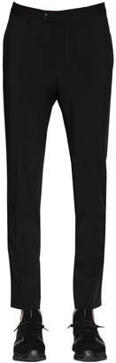 Ermenegildo Zegna 17.5cm Lined Stretch Wool Pants