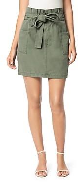 Joe's Jeans Belted Paperbag-Waist Skirt