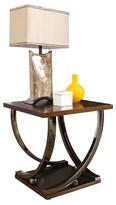 Ashley Rollins End Table - Dark Brown - Signature Design®