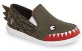 Emu Boy's Crocodile Skate Shoe