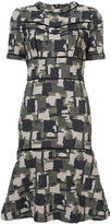 Yigal Azrouel Patchwork Jacquard Dress