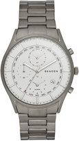 Skagen Men's Chronograph Holst Titanium Bracelet Watch 40mm SKW6286