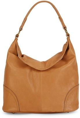 Frye Madison Leather Hobo Bag