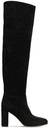 Gianvito Rossi 85mm Suede Over-the-knee Boots