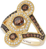 LeVian Le Vian Chocolatier® Chocolate Deco EstateTM Gold Diamond (1-1/4 ct. t.w.) ring in 14k Gold