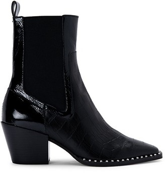 Dolce Vita Sabern Leather Chelsea Booties