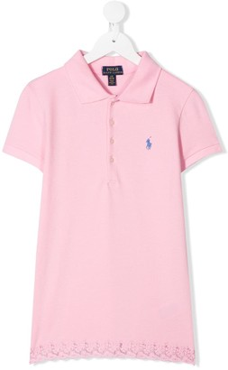 Ralph Lauren Kids TEEN short sleeve polo top