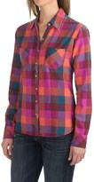 Dickies Herringbone Plaid Shirt - Cotton Flannel, Long Sleeve (For Women)