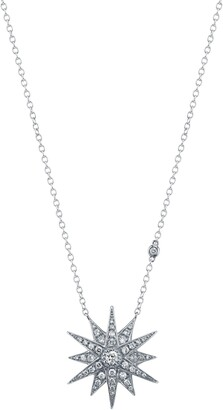 Shay Diamond Starburst Pendant Necklace
