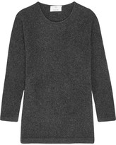 Allude Wool-blend Sweater - Charcoal