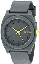 Nixon Women's A1191244 Time Teller P Analog Display Japanese Quartz Grey Watch