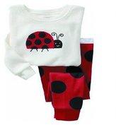 SS&CC Girls' Animal Printing Long Sleeve 2 Piece 100% Cotton Pajama set(2-7 Years)