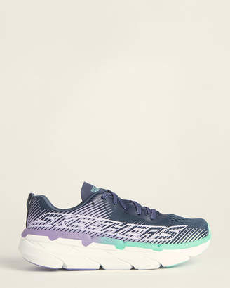 Skechers Blue & Lavender Max Cushion Running Sneakers