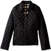Burberry Mini Ashurst New Classic Modern Quilted Coat Girl's Coat