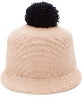 Eugenia Kim Loulou Pompom-Embellished Woven Hat