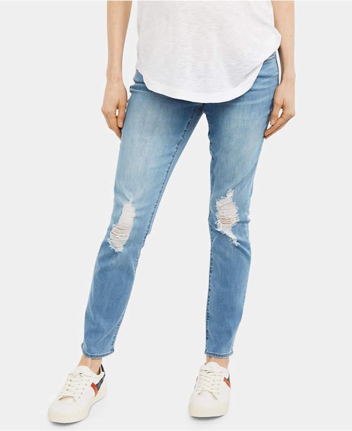 40cb51a9f2233 Straight Leg Maternity Jeans - ShopStyle