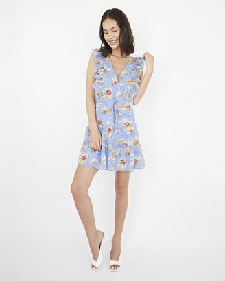 Paige Barbarella Dress-Dream Blue- Poppy Meadow