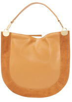 Diane von Furstenberg Large Leather & Suede Crossbody