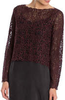 Nic+Zoe Brushed Lace Top