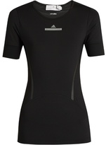 adidas by Stella McCartney Run short-sleeved performance T-shirt