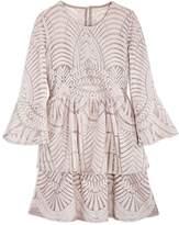 Bardot Junior Girls' Embroidered Lace Dress