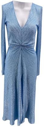 Rotate by Birger Christensen Blue Polyester Dresses