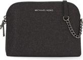 MICHAEL Michael Kors Alex glitter leather cross-body bag