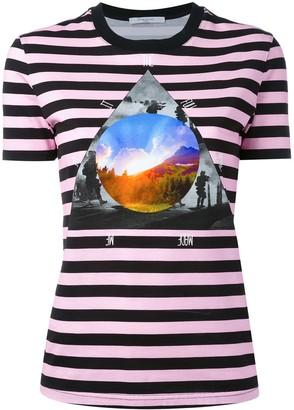 Givenchy stripe 'Full Moon' T-shirt