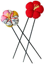 Smallflower Kimono Hair Pins by Chidoriya
