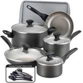 Farberware Nonstick Aluminum 15-Piece Cookware Set