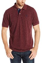 U.S. Polo Assn. Men's Fleck Pique Polo Shirt