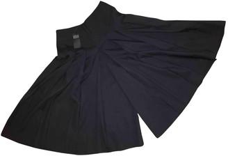 Joseph Black Wool Skirt for Women