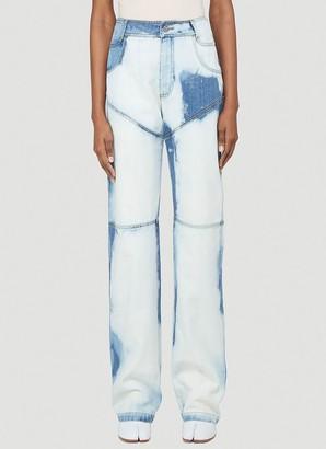 Telfar Bleached Jeans