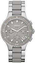 DKNY Women's NY8505 Silver Stainless-Steel Quartz Watch with Dial