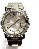 Gucci Stainless Steel Silver Dial 40.10mm Unisex Watch