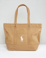 Polo Ralph Lauren Canvas Logo Shopper
