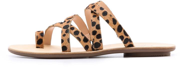 Loeffler Randall Sarie Cheetah Sandal