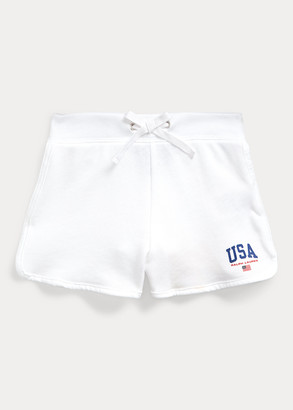Ralph Lauren USA French Terry Short