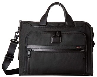 Tumi Alpha 3 Slim Deluxe Portfolio (Black) Luggage