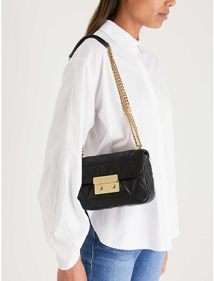 MICHAEL Michael Kors Sloan small quilted leather cross-body bag