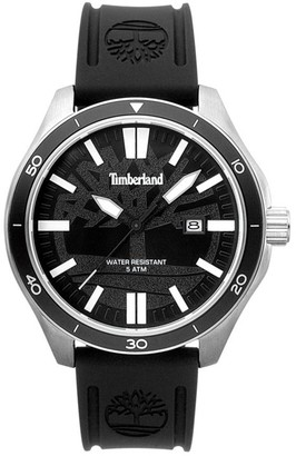 Timberland Mens Analogue Quartz Watch with Silicone Strap TBL.15418JSTB/02P