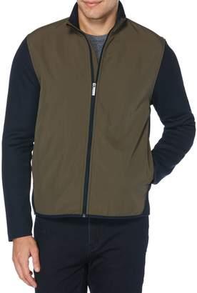 Perry Ellis Big Tall colourblock Full-Zip Fleece Jacket