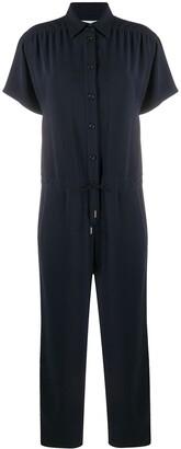 Brag-wette Short Sleeve Utility Jumpsuit