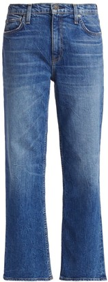 Hudson Remi High-Rise Cropped Straight Jeans