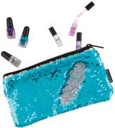 Fashion Angels Girls 4-16 Magic Flip Sequin Nail Polish& Wristlet Set