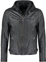 Gipsy Riley Leather Jacket Schwarz