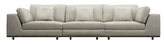 Modloft Perry Preconfigured Three-Seat Sofa Set (3 PC)